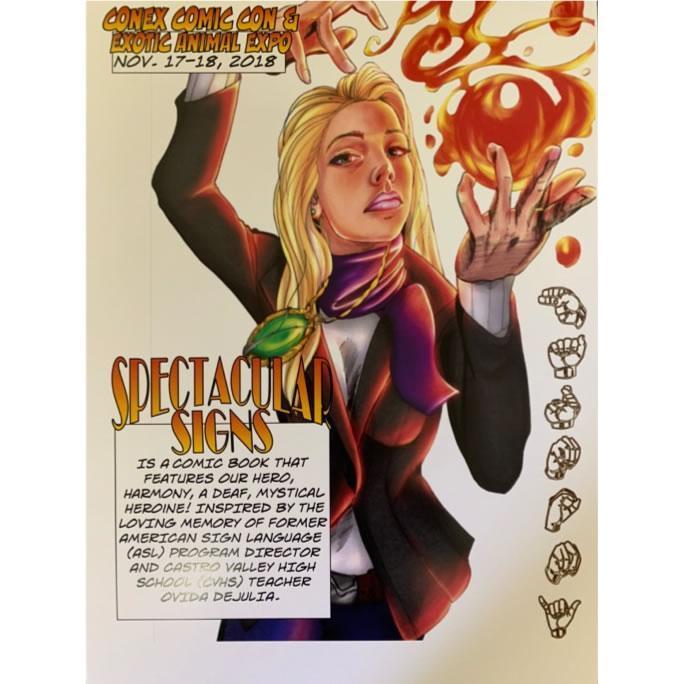 Featuring a Deaf mystical heroine named Harmony