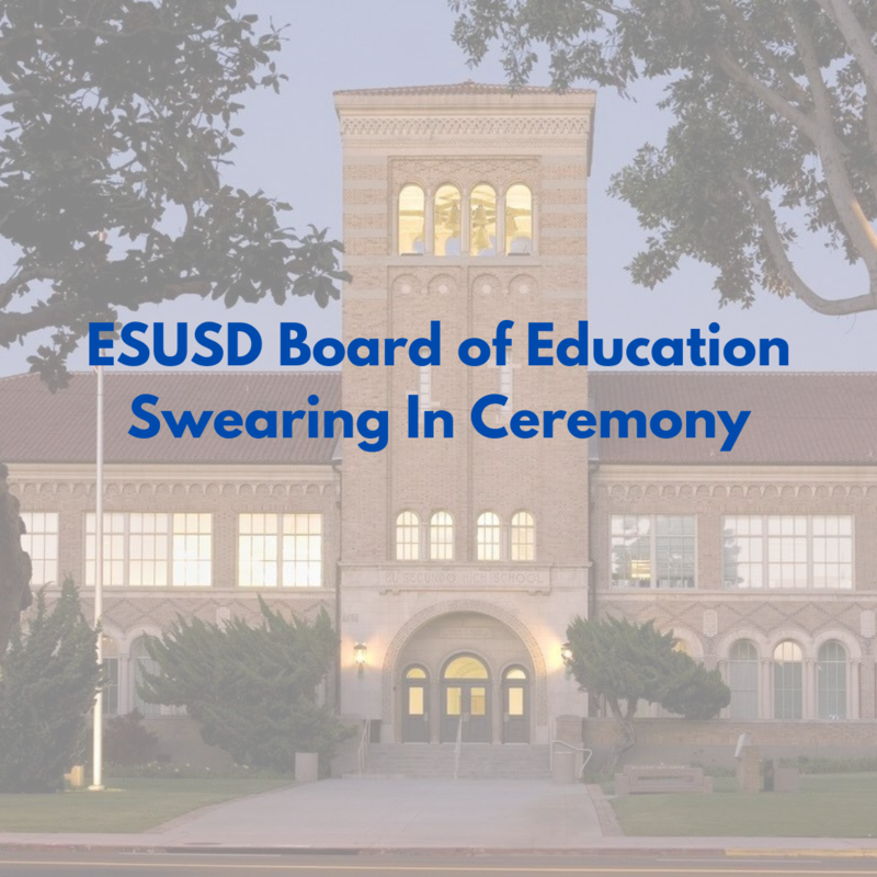 Newly Elected El Segundo Board of Education Members Take Oath of Office Featured Photo
