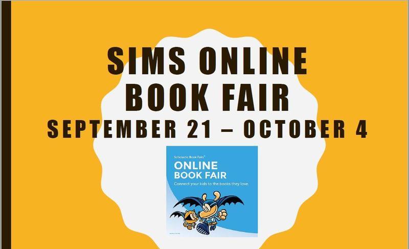 SIMS Online Book Fair (September 21 - October 4) Featured Photo
