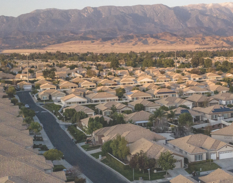 Housing Community in the City of Beaumont