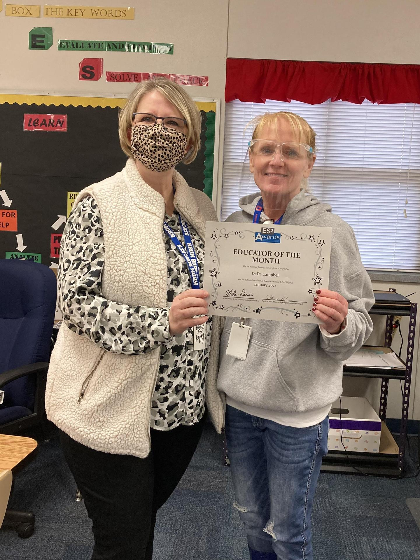 photo of mrs bolz and mrs campbell