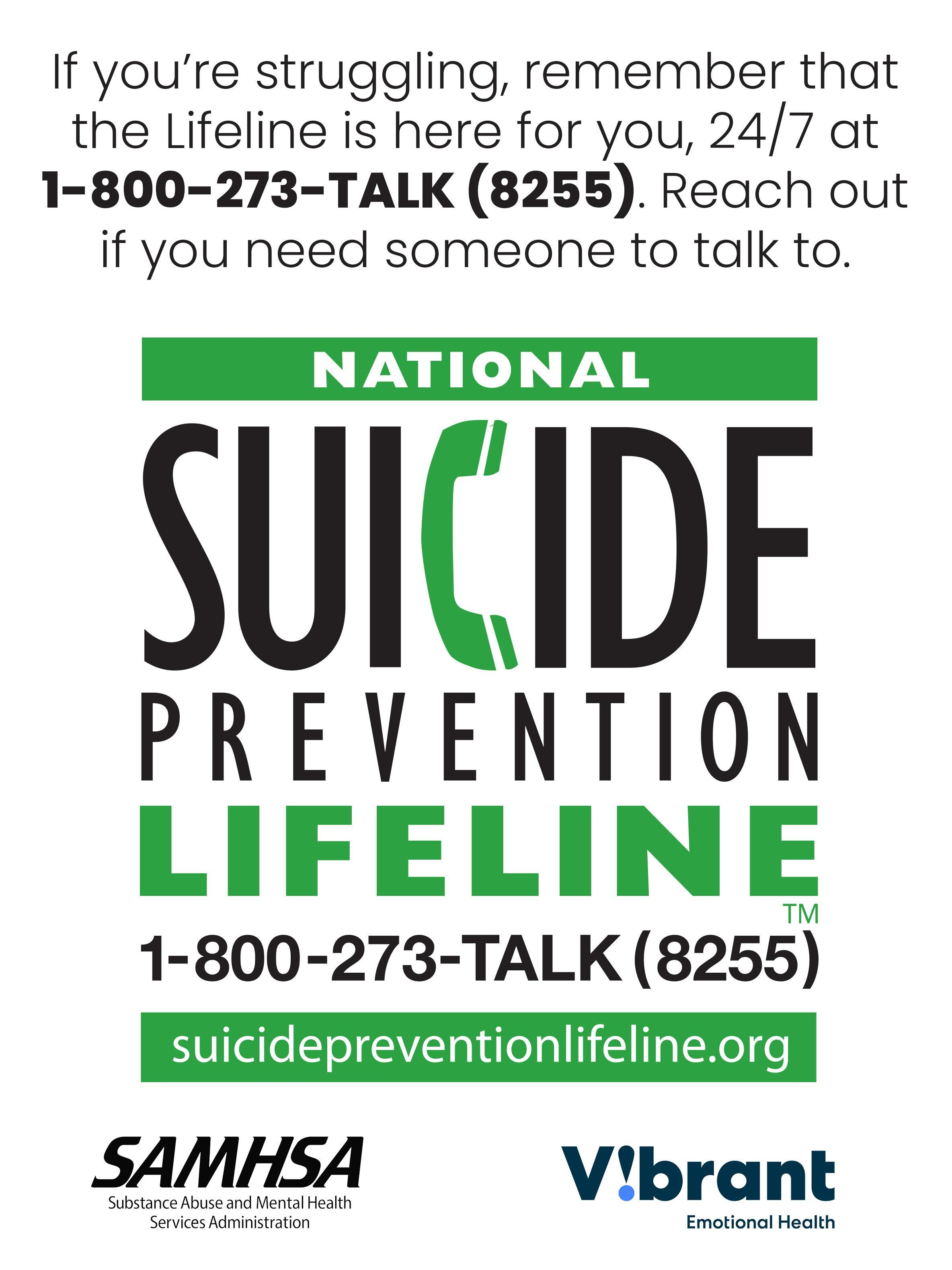 September is National Suicide Prevention Month!