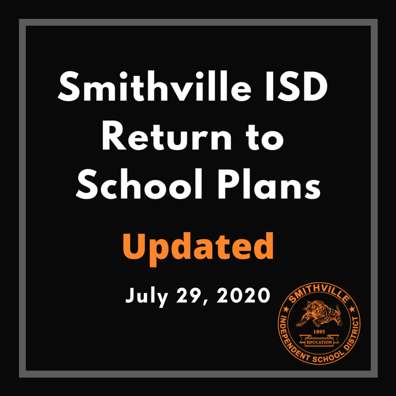 Return to School Plans Updated