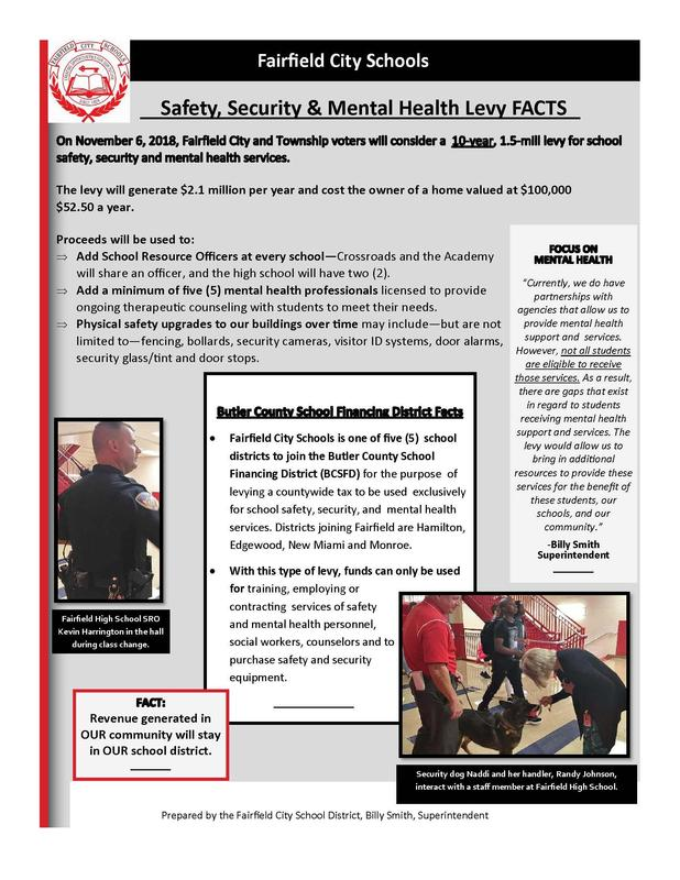 Safety, Security & Mental Health Levy FACTS Featured Photo