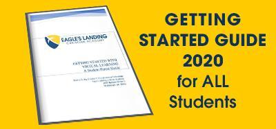 ALL Students should be familiarized with the 2020 GETTING STARTED GUIDE Featured Photo