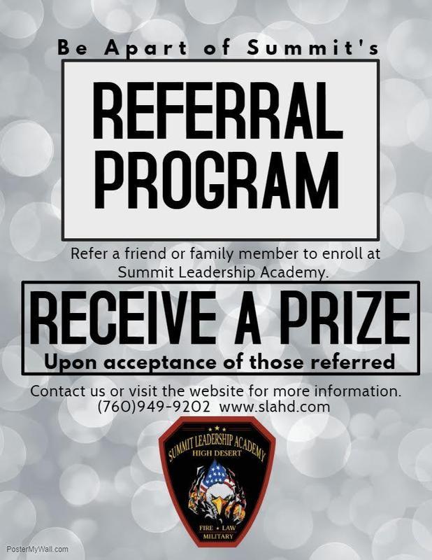 Refer a friend, receive a prize. Thumbnail Image