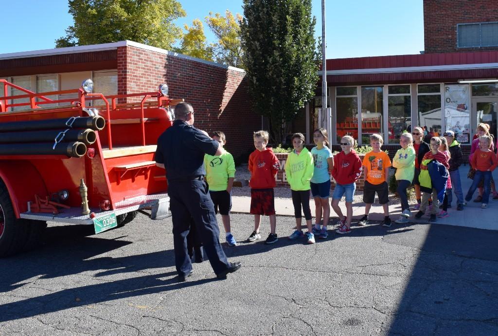 Fire truck ride #2
