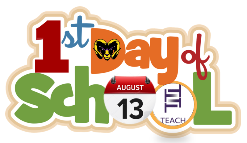 First Day of School- August 13th, 2018 / Primer Día de Clases- 13 de agosto de 2018. Featured Photo