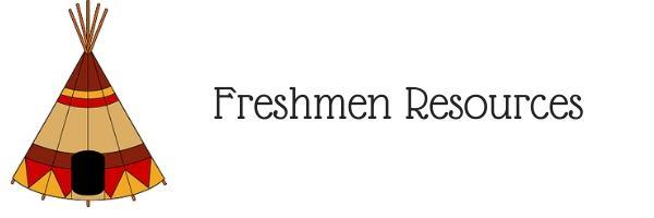 Freshmen Resources