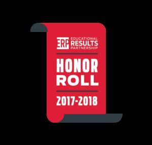 ERP Honor Roll School Logo: 2017-2018 school year