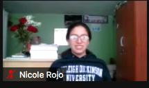 Nicole Rojo on zoom