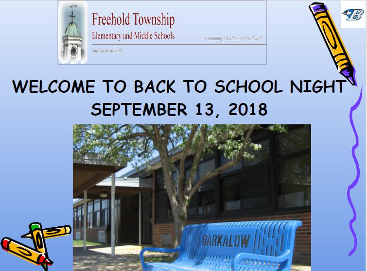 Back to School Night Presentation Thumbnail Image