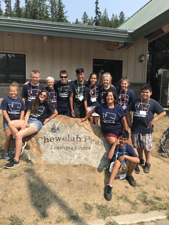FMS 2018-19 ASB Team at Chewelah Peak