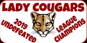 lady cougars basketball logo