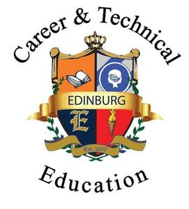 Edinburg CISD Career & Technical Education logo.