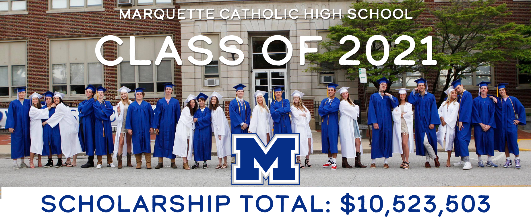 class of 2021 scholarship totals