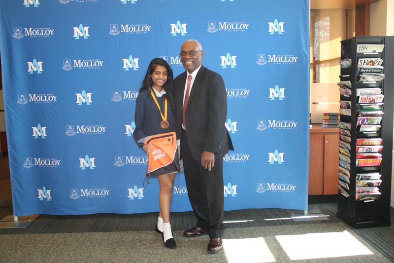 Molloy Student Receives Prudential Spirit of Community Award Featured Photo