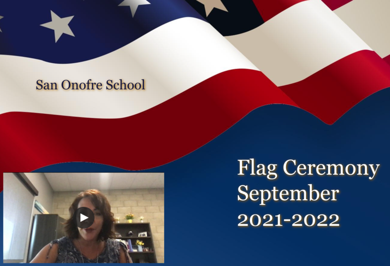 September Flag Ceremony Featured Photo