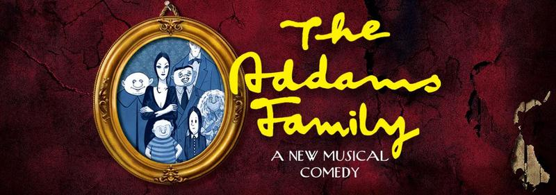 picture frame with the Addams family