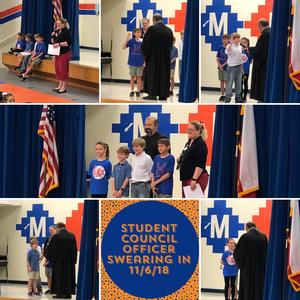 Student Council Swearing In Ceremony