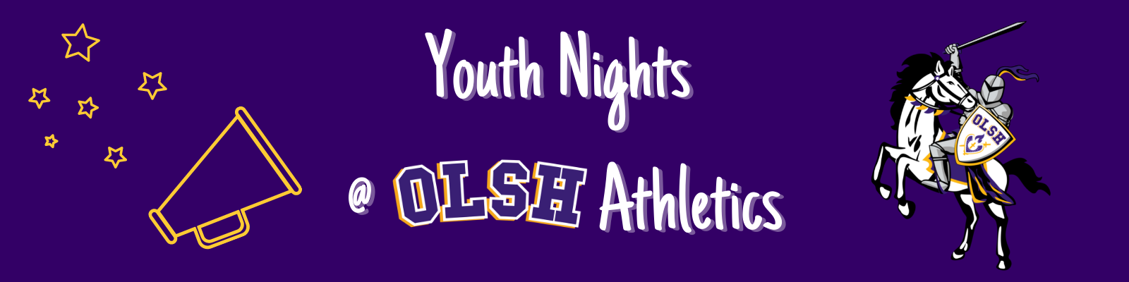 youth night banner