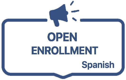 Open Enrollment Link- Spanish