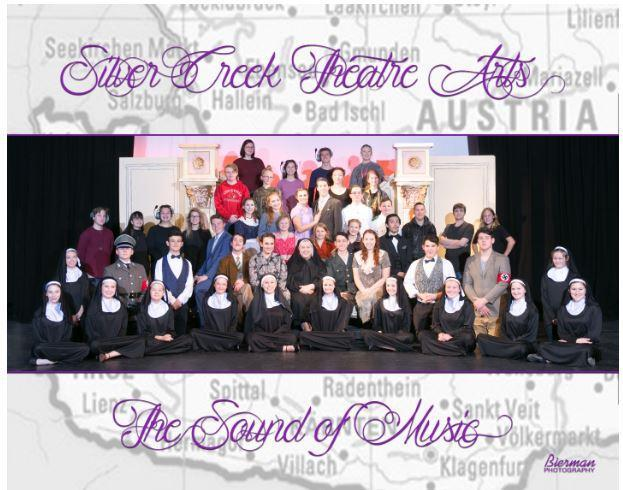 2018 Cast of Sound of Music