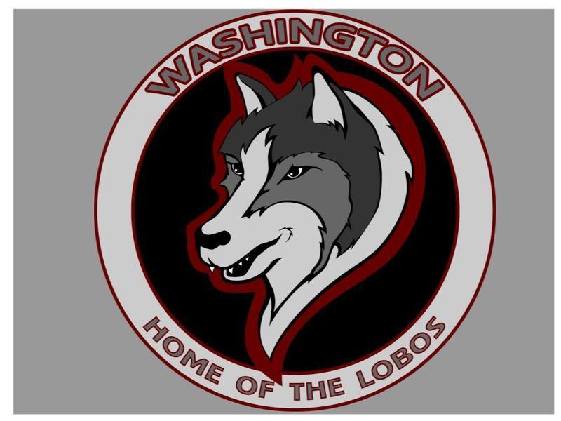 school logo washington home of the lobos