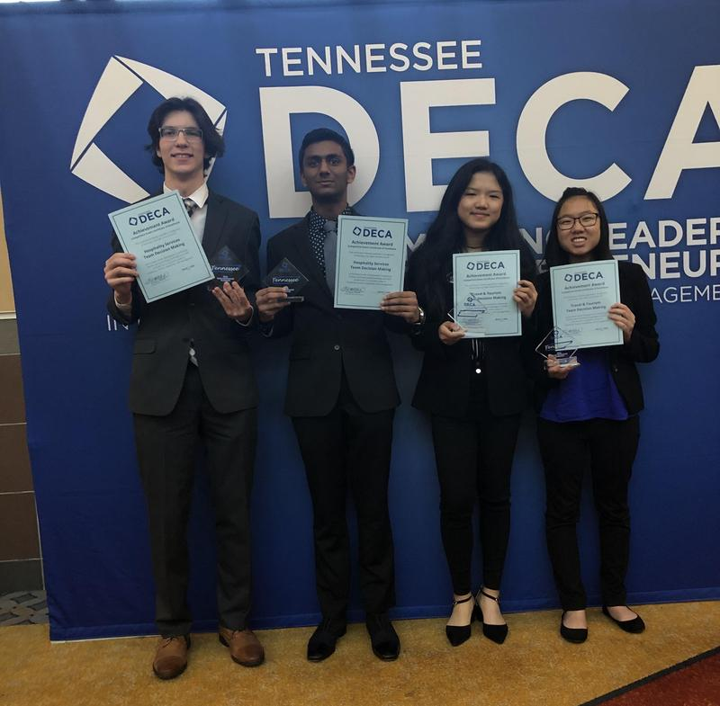 CHS DECA Club Has Five Qualify for DECA's ICDC Featured Photo