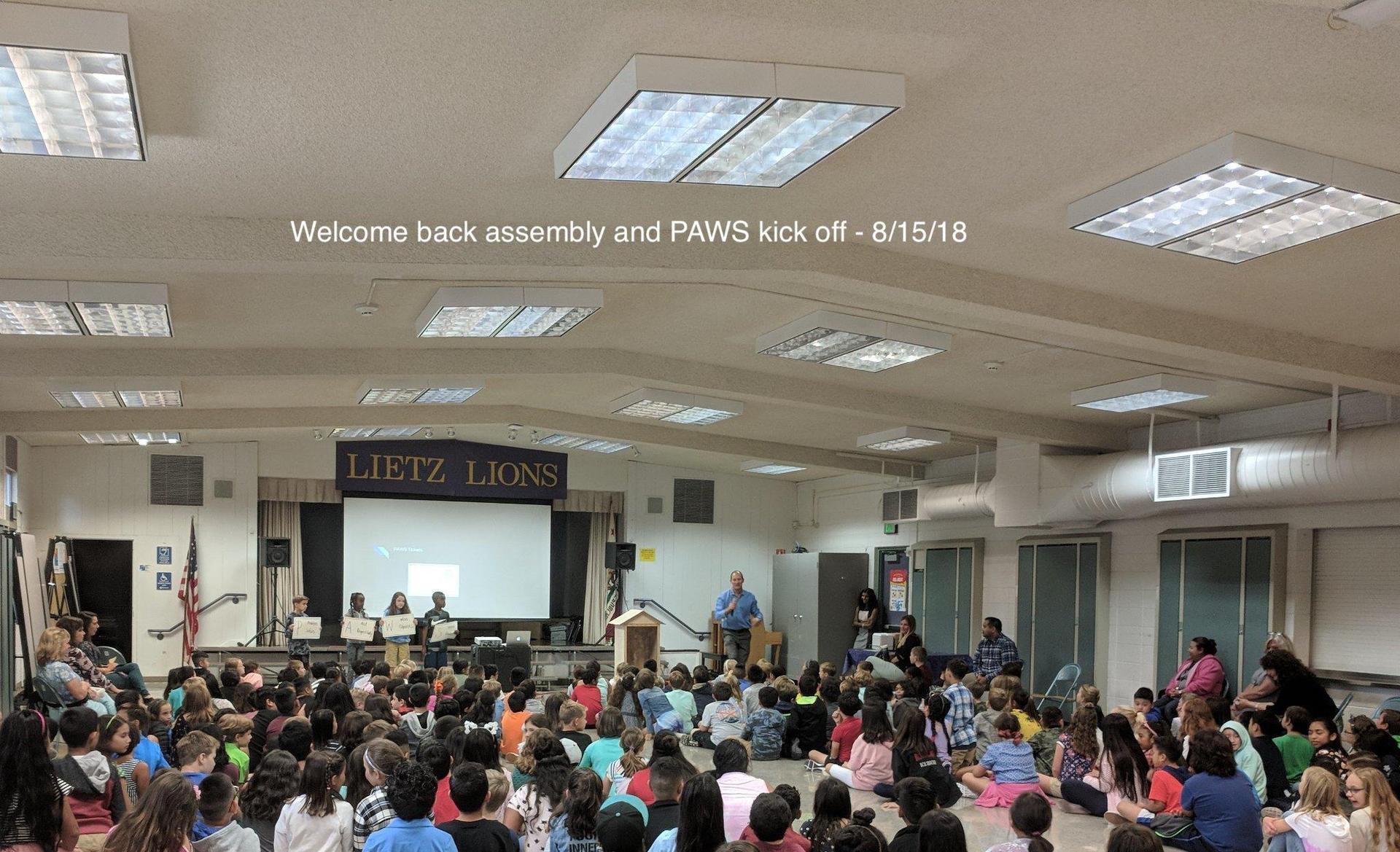 P.A.W.S. Assembly