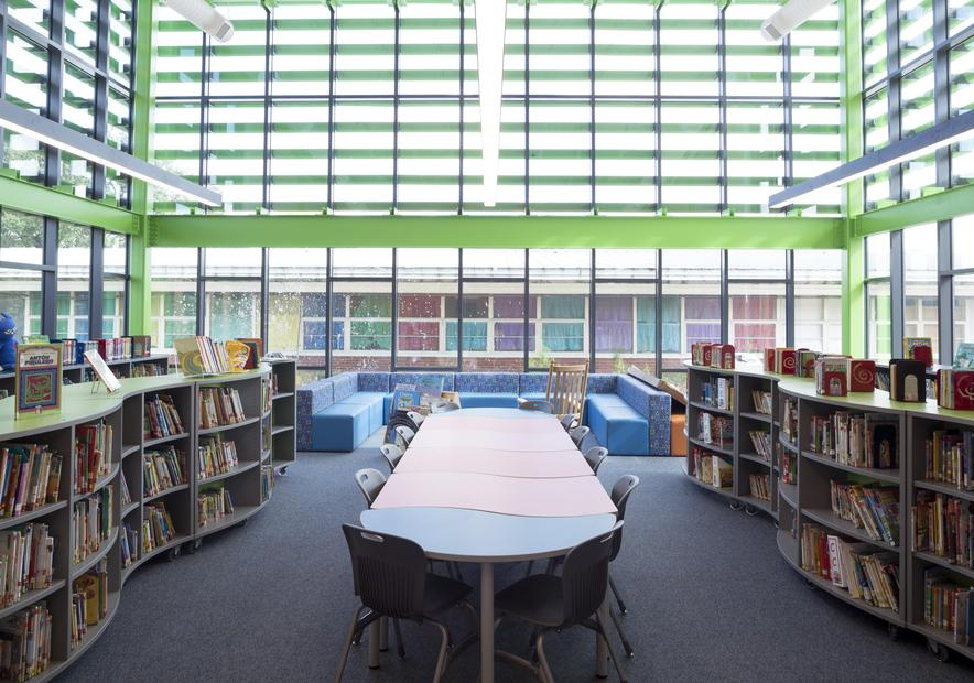 Houston Elementary Library