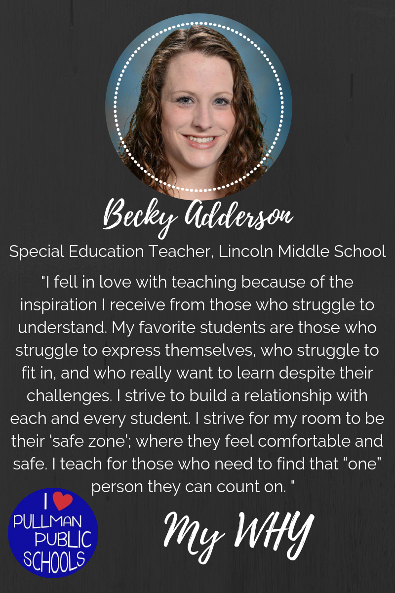 Becky Adderson: My WHY Thumbnail Image