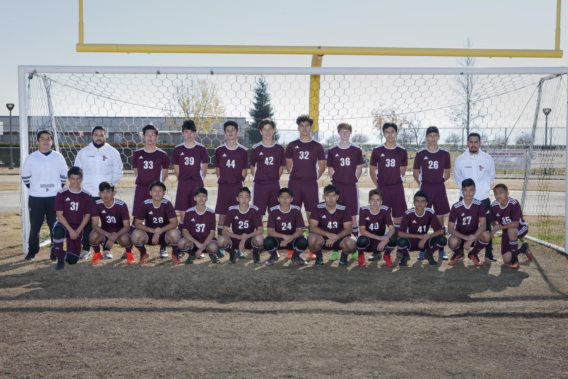 Frosh/Soph Boys Soccer 2017