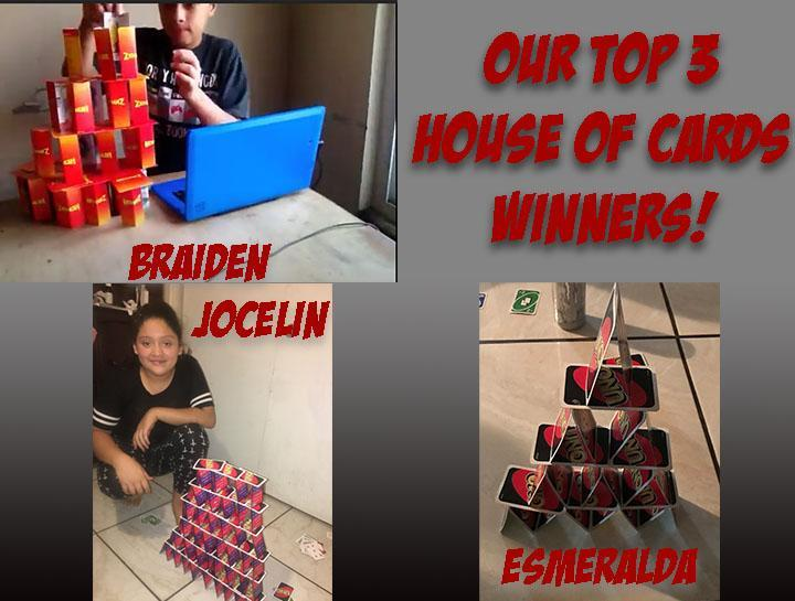 House of Cards Winners