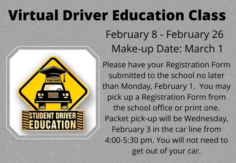 spring driver education class