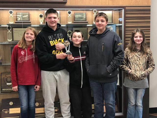 6th-7th Academic Team Advances to State Featured Photo