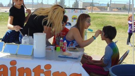 Face Painting Booth