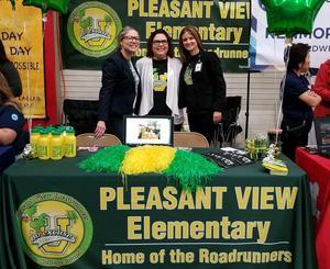 Ms. Arevalo, AP   Mrs. Macias, CTI Coach    Mrs. Cruz, Principal