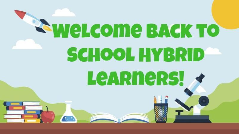 First Day of School for Hybrid Tk-2nd Grade Students - Thurs. Feb. 18, 2021 Featured Photo