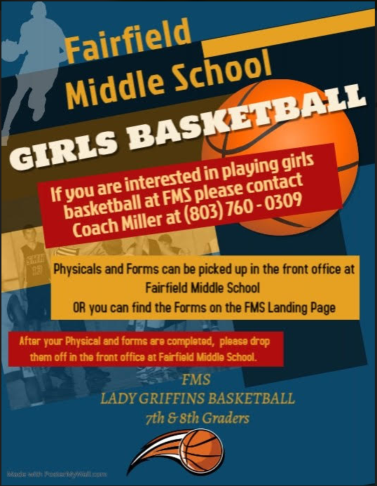 Girl Basketball tryout information