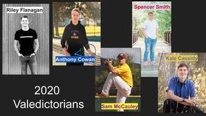 2020 Valedictorians