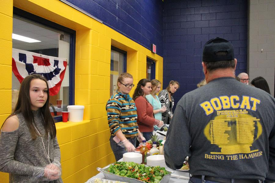 Veteran's Day Luncheon hosted by NJHS