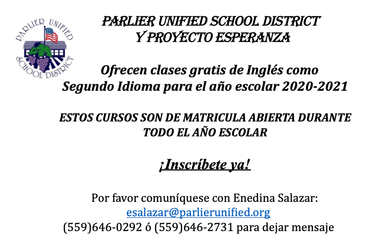 Photo of flyer