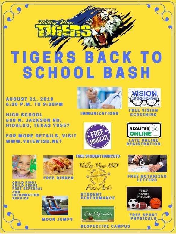 Valley View ISD Back to School Bash Thumbnail Image