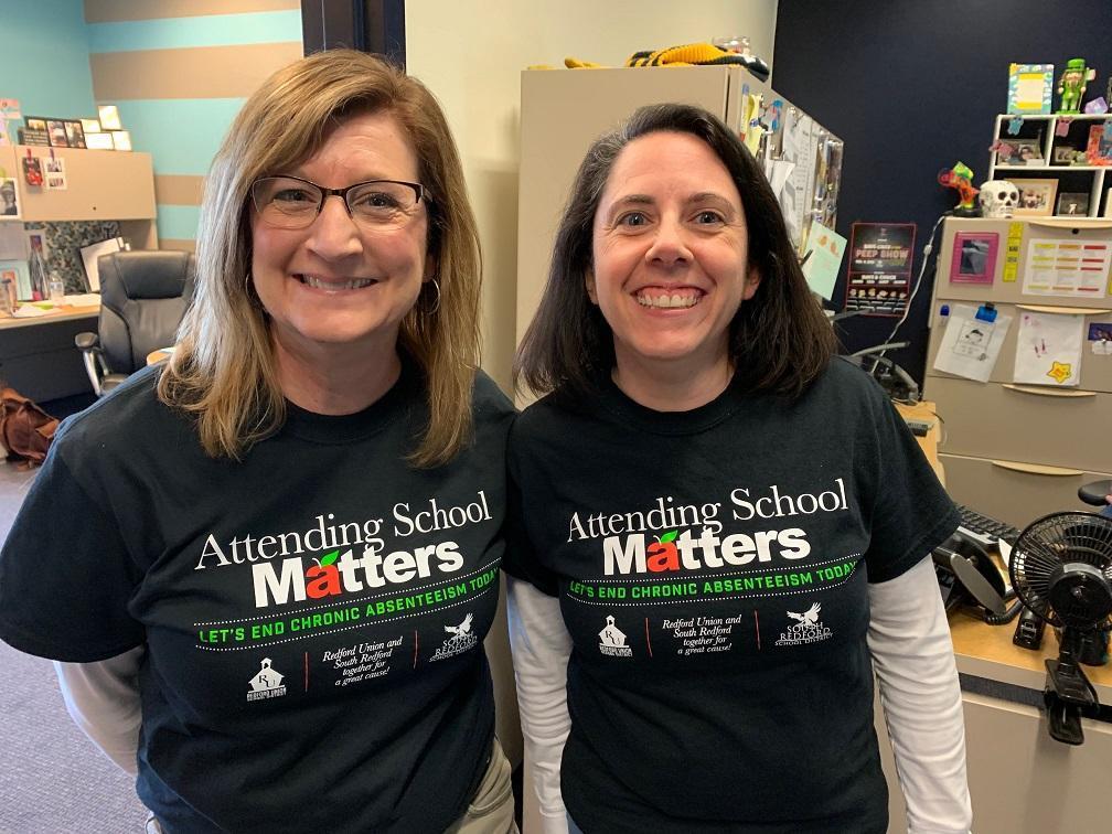 Ms. Drotos & Mrs. Ferris