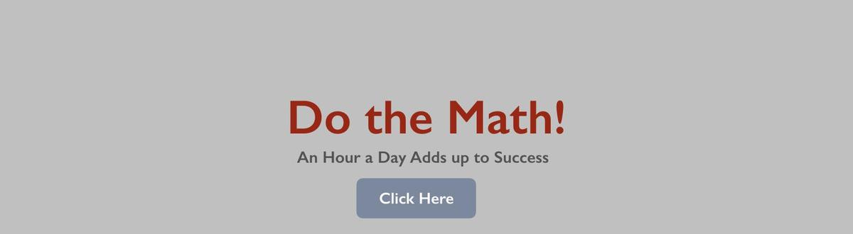 Do The Math Banner