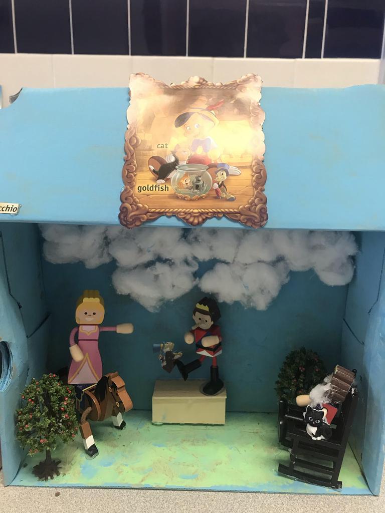 pinochio diorama