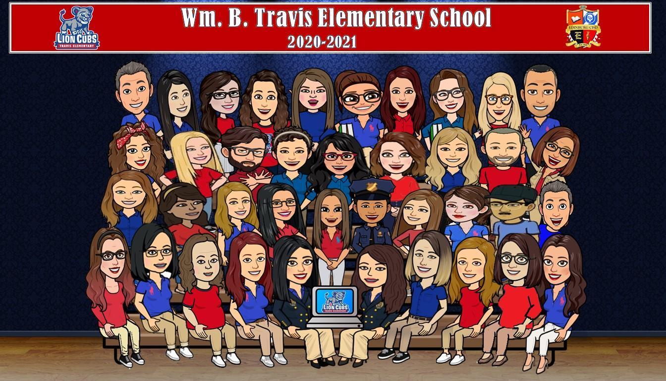 Travis Staff 2020-2021