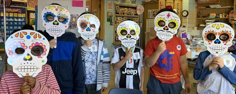 Denkmann Students Celebrate Day of the Dead Featured Photo