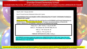 Sheridan 6th Grade Notification for Parents 06-04-2021.png
